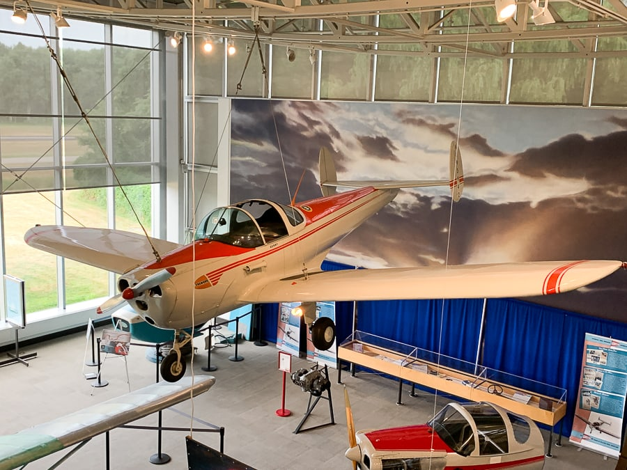 Ercoupe at College Park Aviation Museum