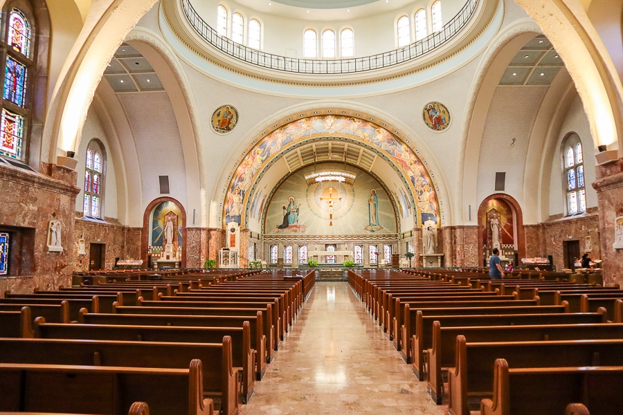 Basilica at Elizabeth Seton Shrine