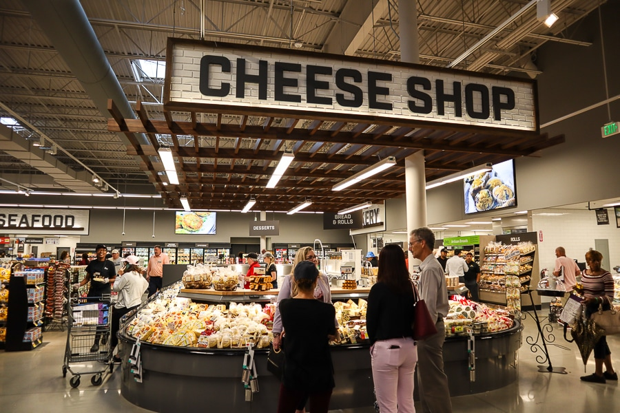 Cheese shop at Giant