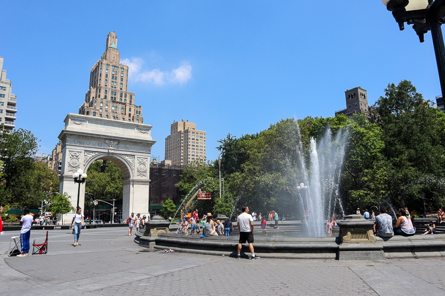 Washington Square on the Super Tour