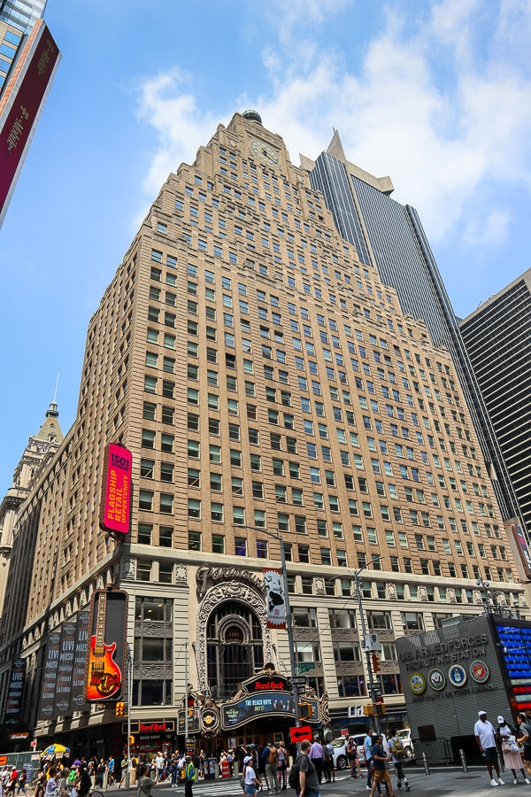 The old Paramount building was the inspiration for The Daily Planet
