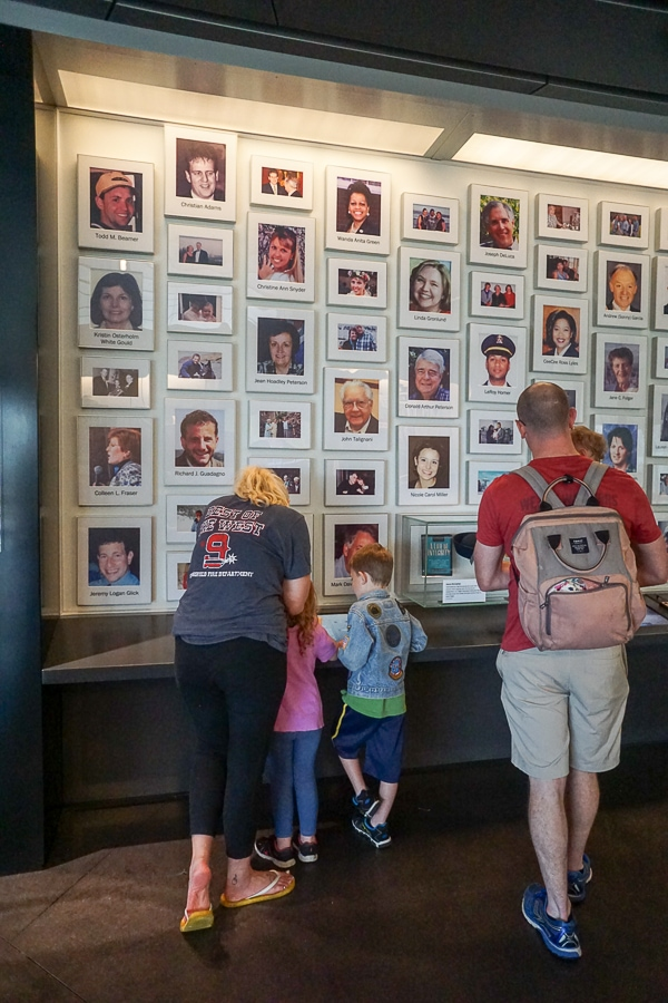 Flight 93 Memorial is for families