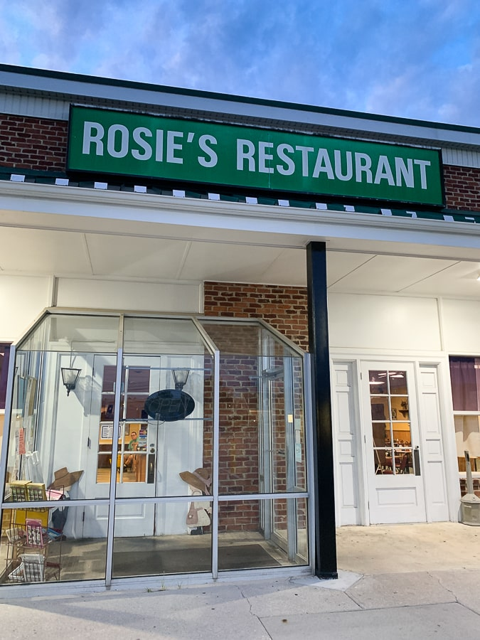 Rosie's Restaurant in New Oxford, PA