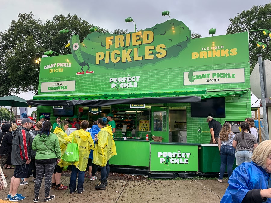 The Perfect Pickle at Minnesota State Fair