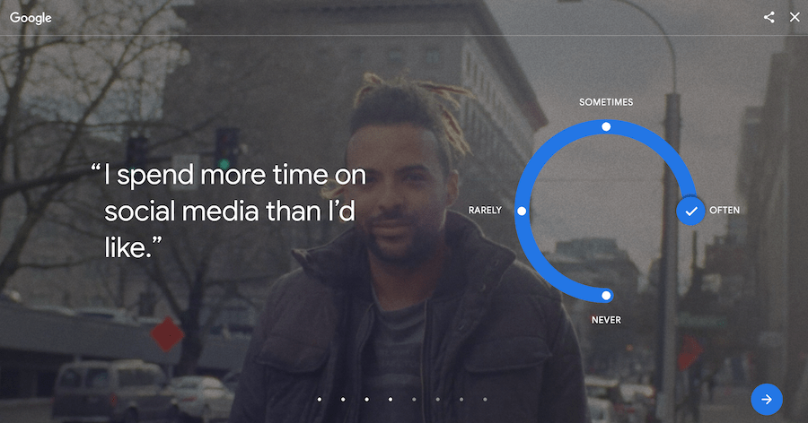 Digital Wellbeing tools from Google