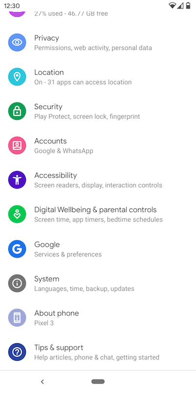 Using Android to limit screen time