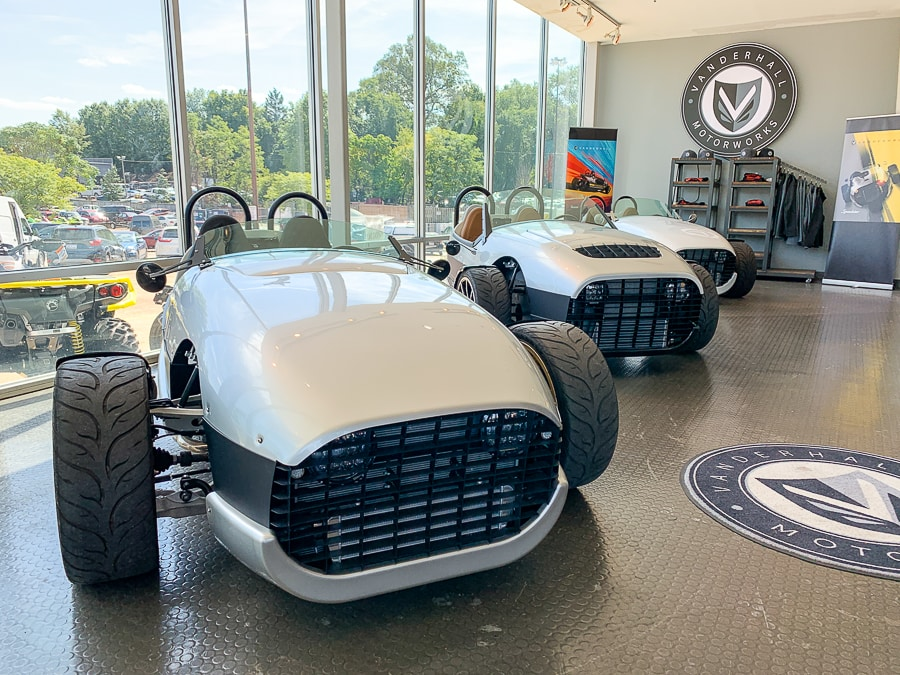 Vanderhall autocycle