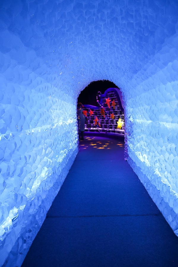 Gaylord ICE tunnel
