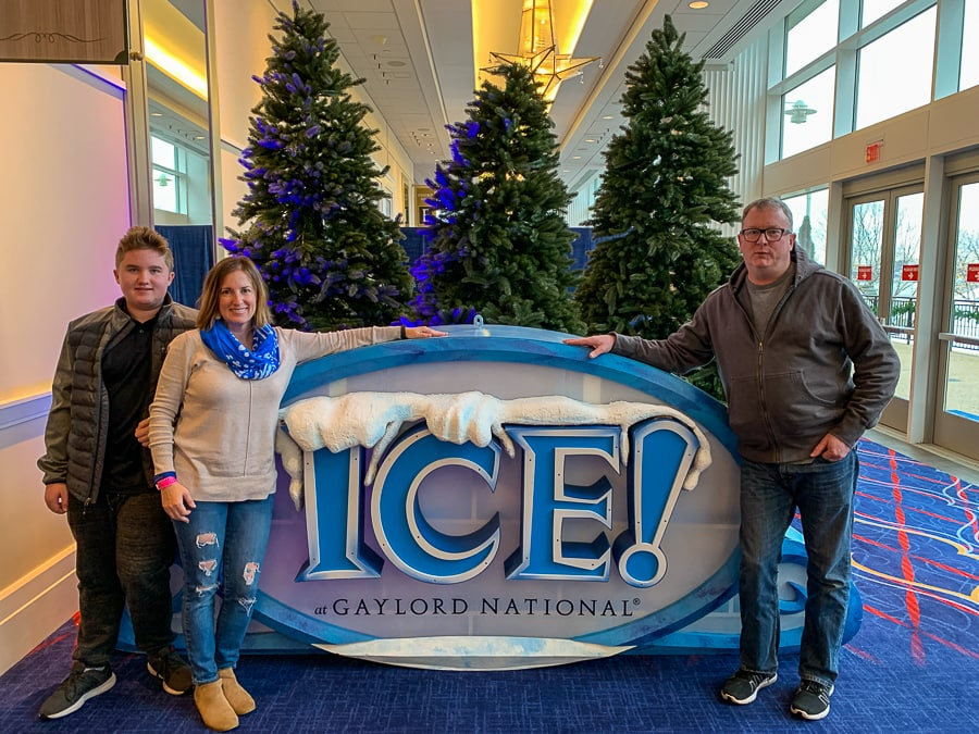 Gaylord ICE! has become our family tradition