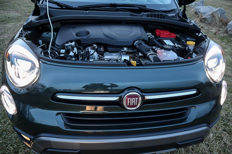 1.3L turbo engine in the 2019 Fiat 500X
