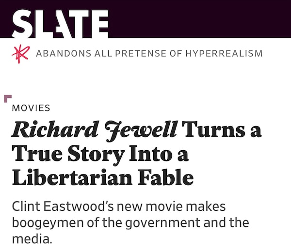 Richard Jewell review at Slate