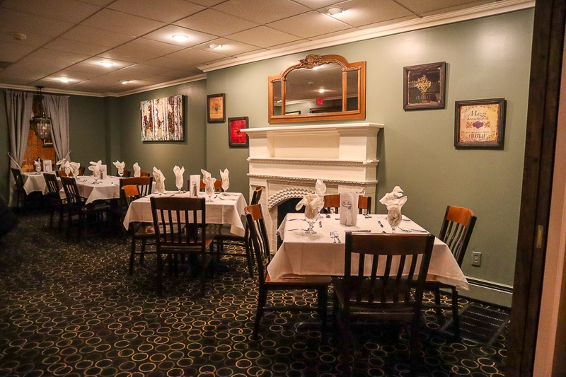 Upscale dining in Huntingdon