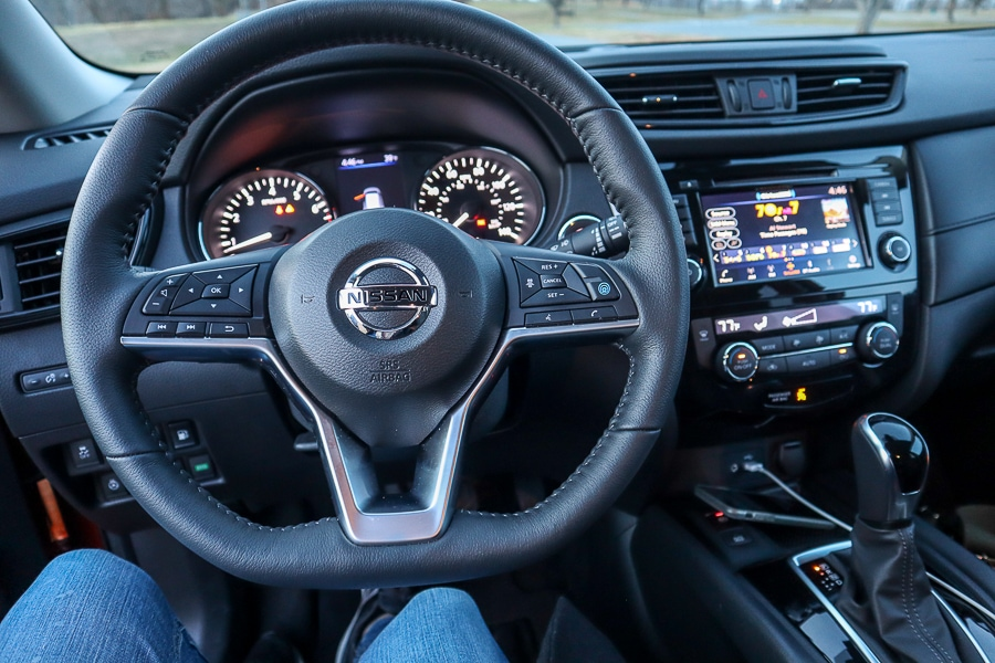 Nissan Rogue steering wheel