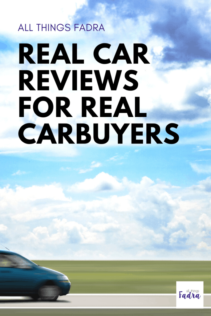 Real car reviews for real carbuyers