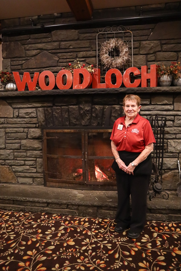 Carol has been working at Woodloch for 40 years.