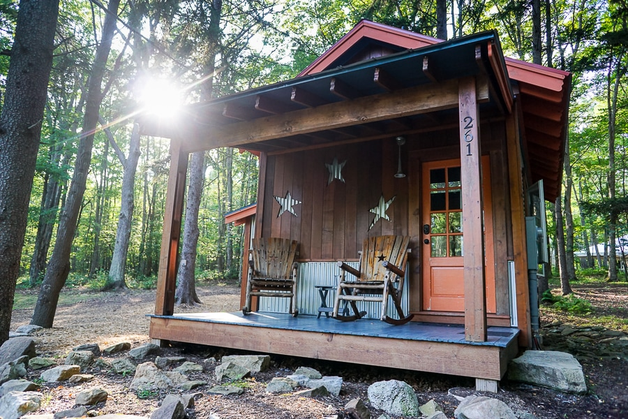 Orion cabin at Blue Moon Rising