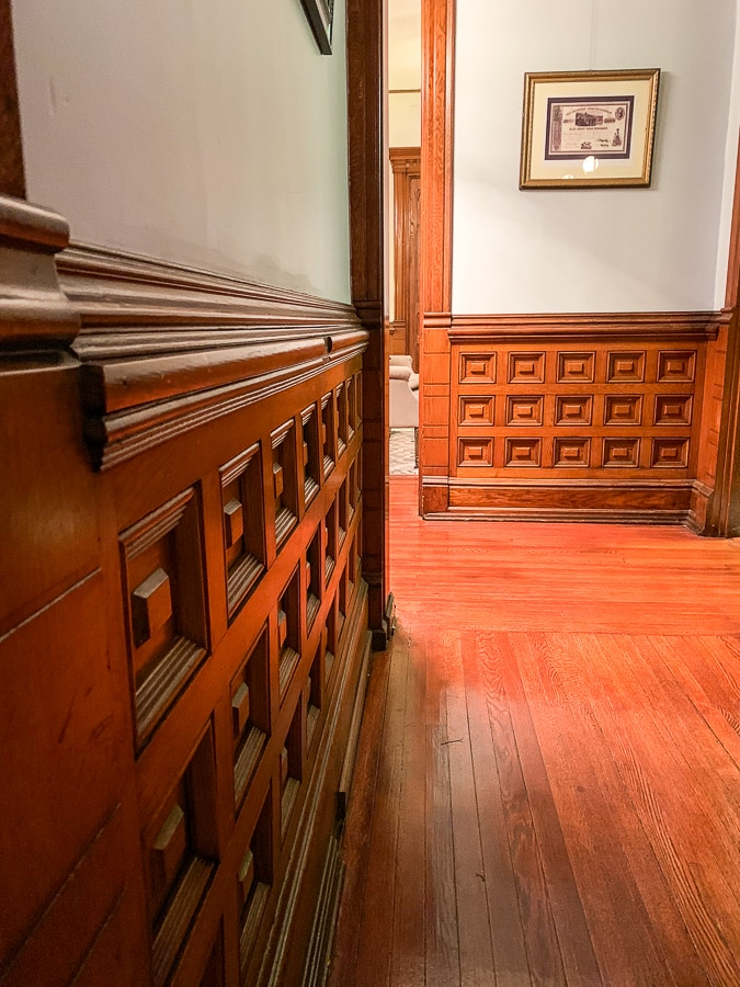 original woodworking throughout the house