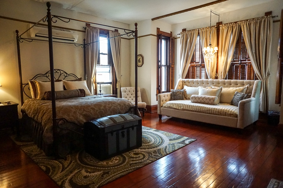 Guest Room #203 at Gage Mansion