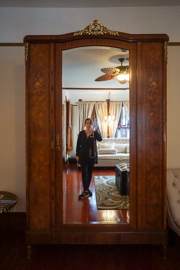 My armoire at Gage Mansion