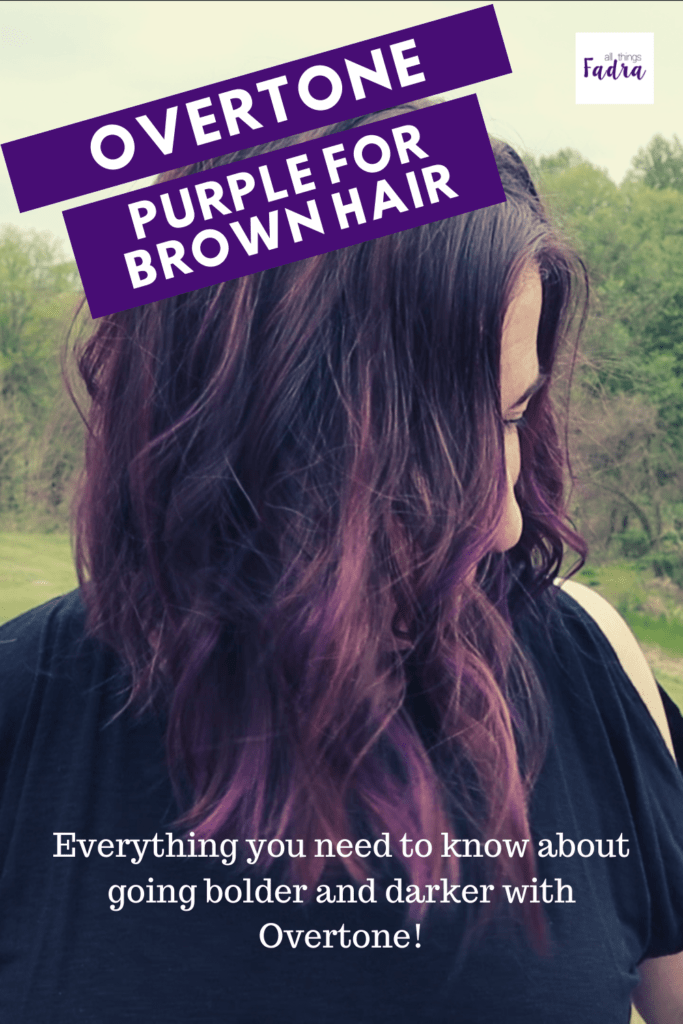 Overtone Purple for Brown hair