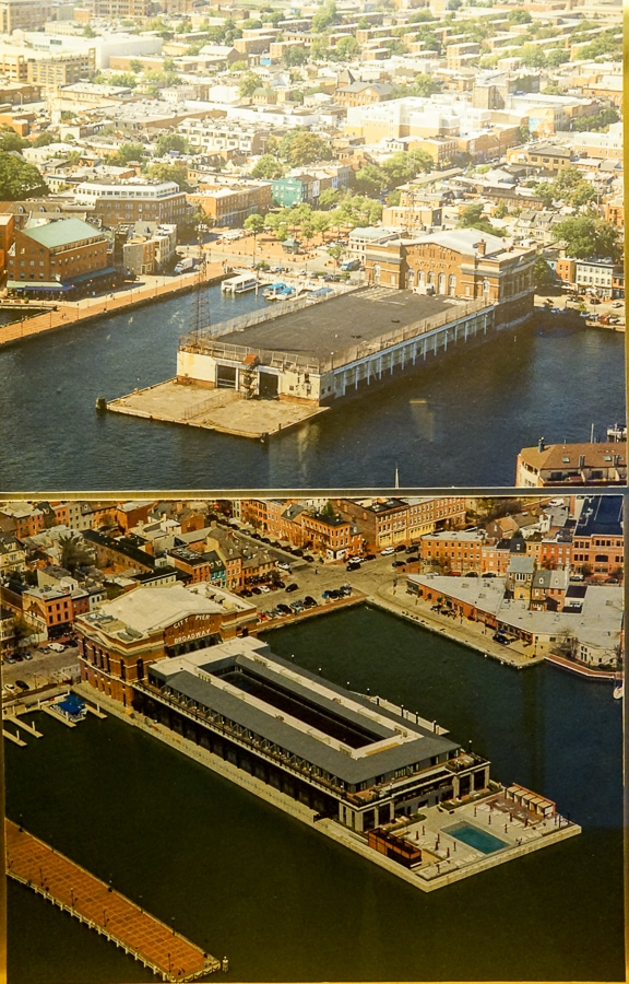 Before and after photos of Sagamore Pendry