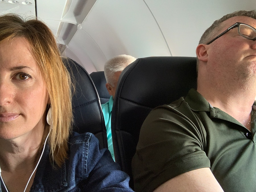Stuck in the middle on Spirit Airlines