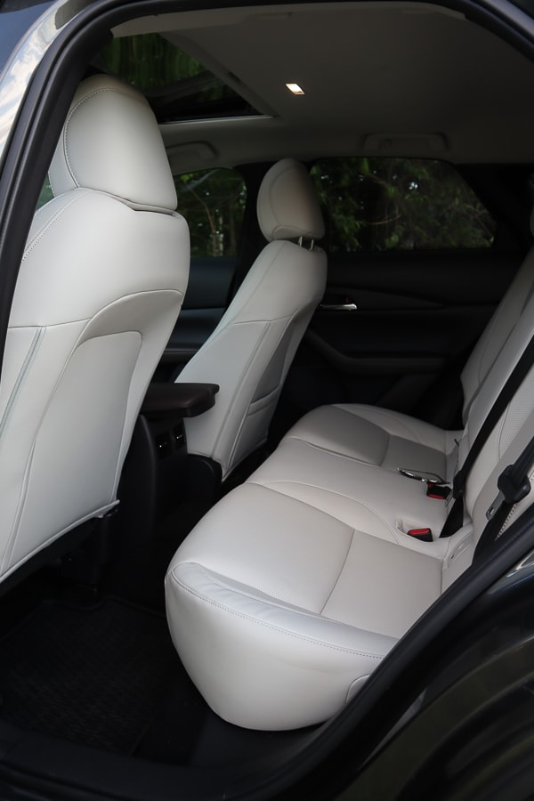 Mazda CX-30 rear legroom