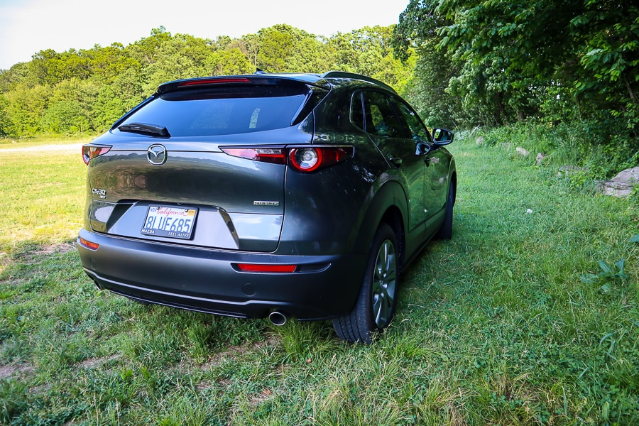 Mazda CX-30 rear hatch
