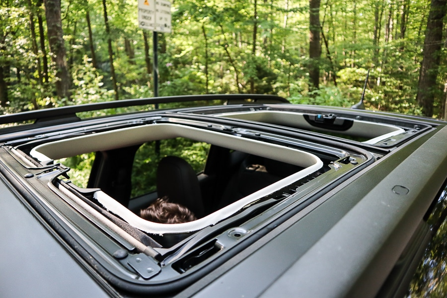 MySky removable roof panels give you an open air feel