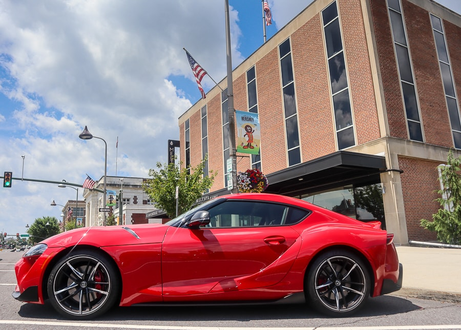 Toyota Supra at the MeltSpa in Hershey, PA