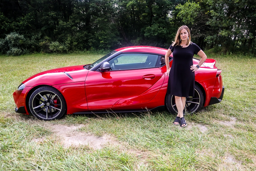 Fadra and the 2020 Toyota Supra
