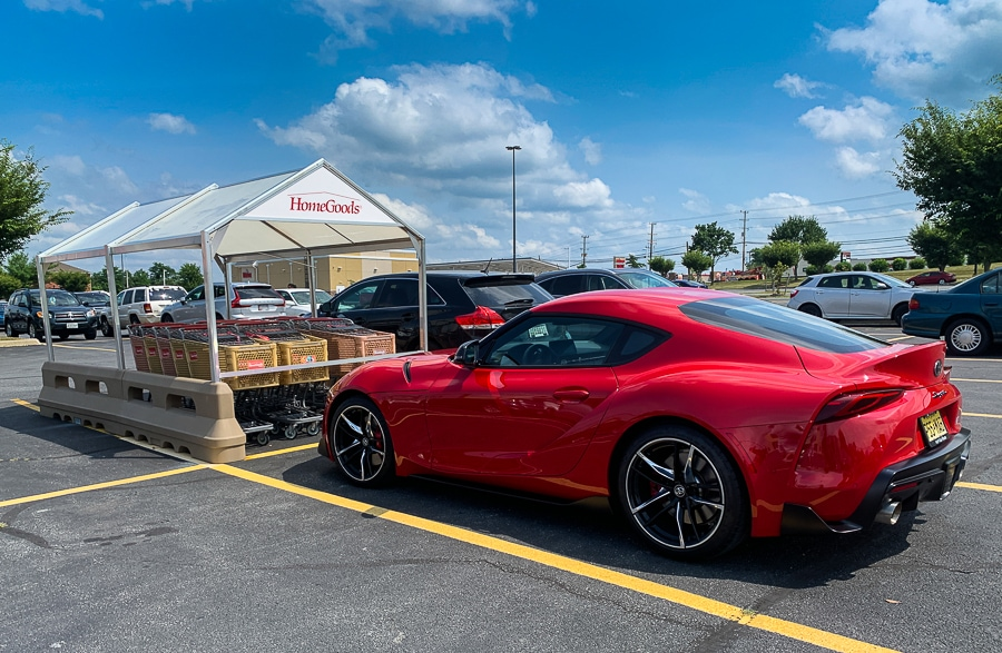 Toyota Supra at Homegoods
