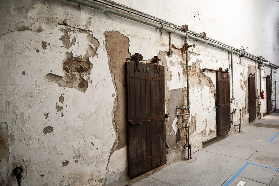 Old cell doors