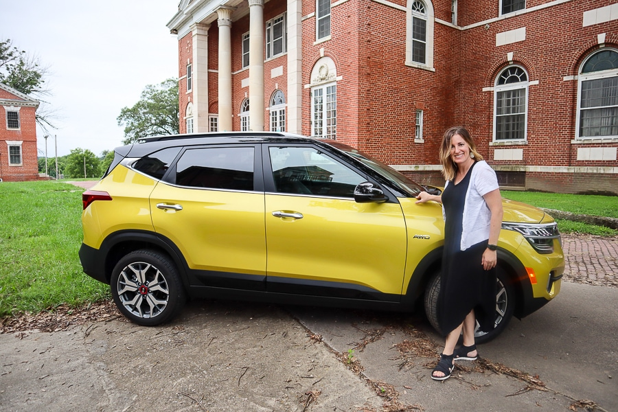 Kia Seltos in Starbright Yellow