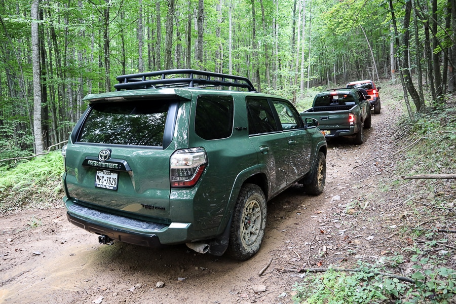 Offroading in the Toyota 4Runner