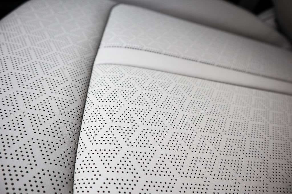Perforated seats