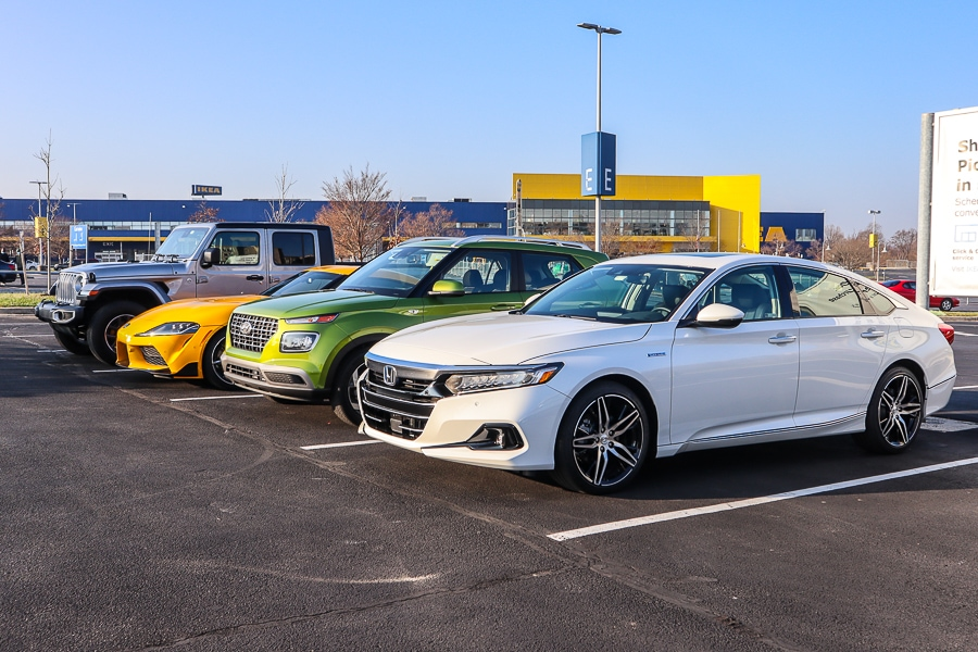 Some of the vehicles at our WAPA Meet Up