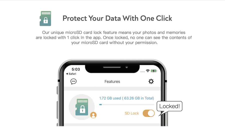 Protect your data with one click