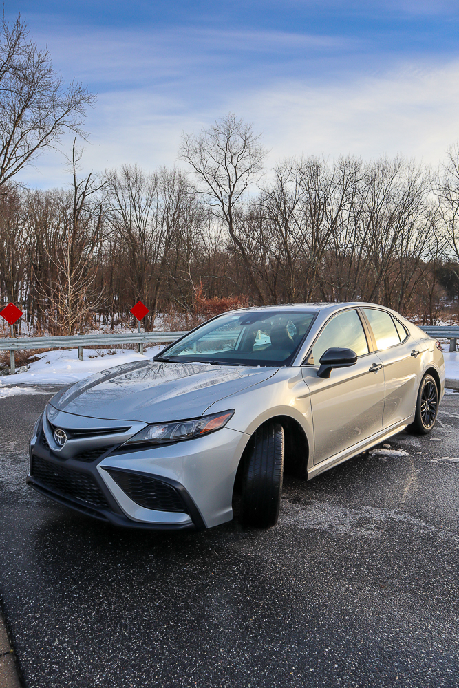 Toyota Camry AWD in the snow