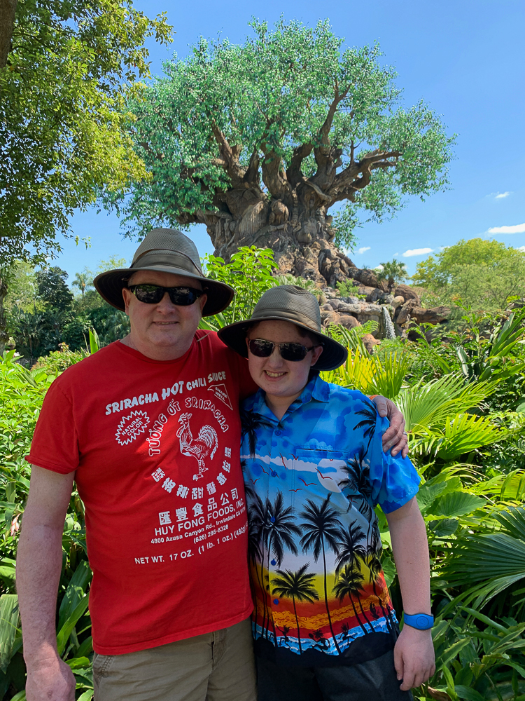 Our family at Animal Kingdom