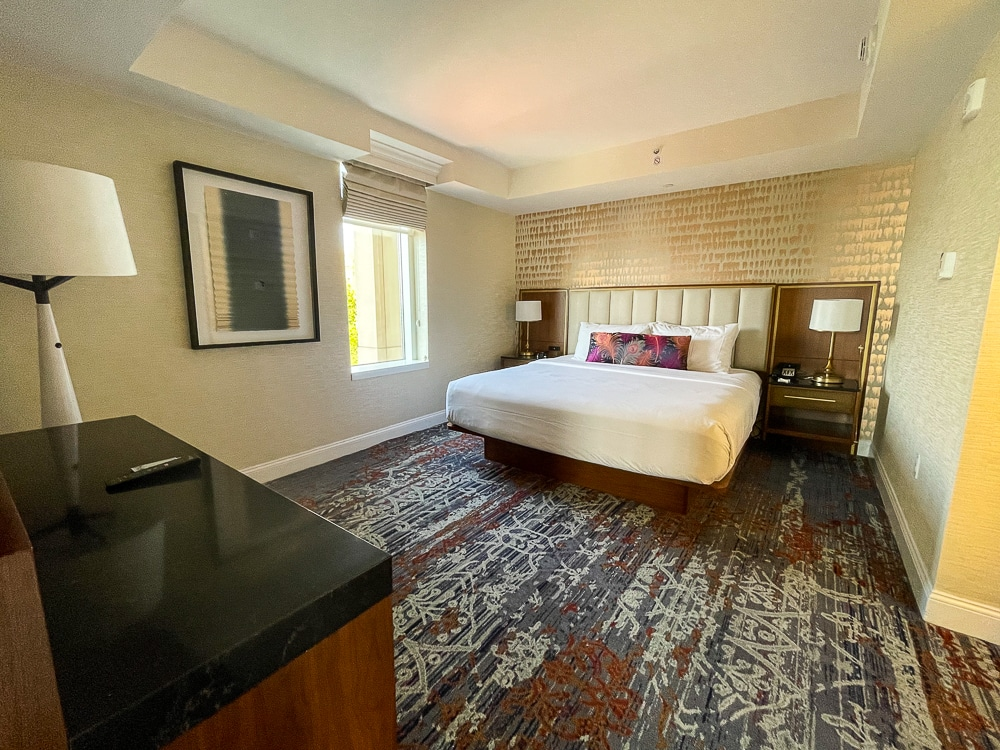 Gaylord National king suite