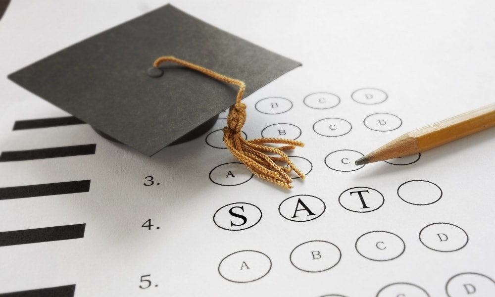 SAT tests for college