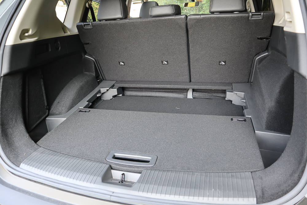 Nissan Rogue cargo space
