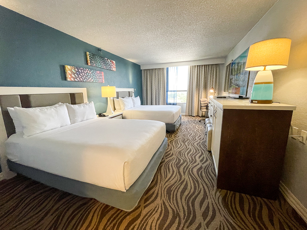 Wyndham Lake Buena Vista with two queen beds